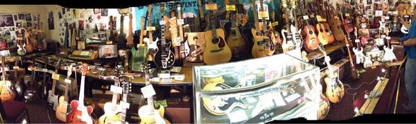Deke Dickerson's Guitar Geek Festival Guitar Museum.