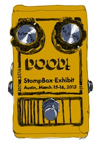 Austin Stompbox Exhibit '13