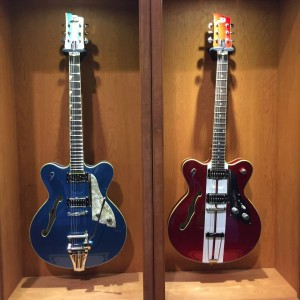 How much for the #Duesenberg in your #NAMMShow booth? #VintageGuitar #guitars #NAMM2015 #guitarlove — in Anaheim, California.