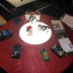 E.W.S. pedals in the Xotic booth