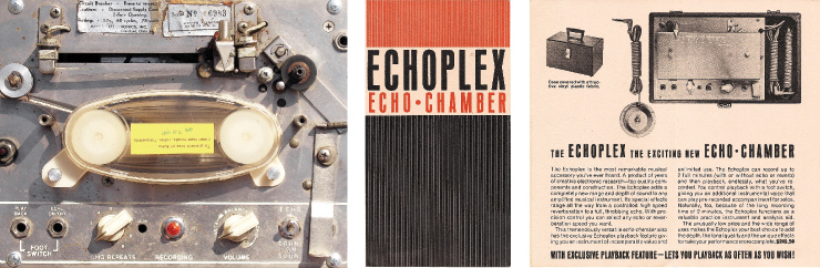 (RIGHT) A rare mid-'60s brochure for the Echoplex EP-2.