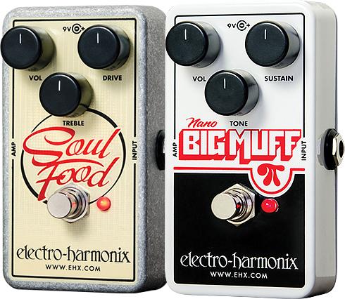 Electro-Harmonix Soul Food, Nano Big Muff