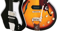 Airline '59 Custom 1P and Epiphone '61 Casino 50th Anniversary