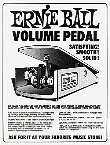 Ernie Ball Volume Pedal
