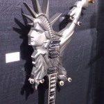 A bit of Lady Liberty in the ESP Custom Shop.