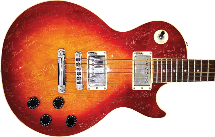 Christian Roebling's 1984 Les Paul.