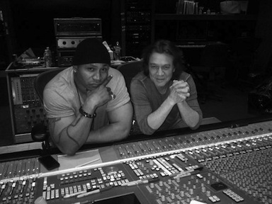 Van Halen adds guitar to new LL Cool J songs