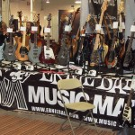 Ernie Ball booth.