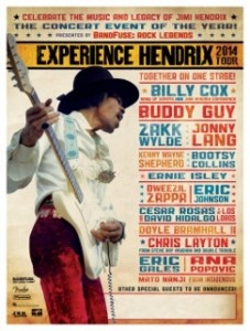 Experience Hendrix poster