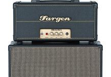 Fargen's John Lennon Signature JL-15 and Micro Plex Vintage Guitar magazine