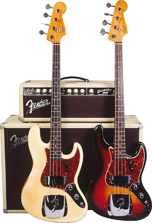 Fender Jazz Basses