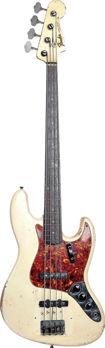 Steve Wariner's '62 Jazz Bass: Rick Malkin.