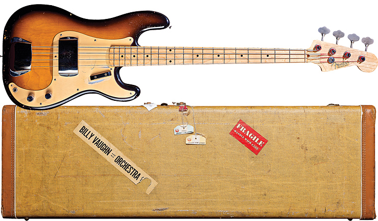 Fender's 1957 Precision Bass