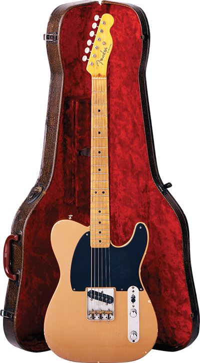 A 52 Esquire With Original Copper Finish