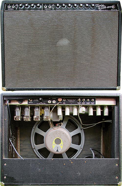 1963 Fender Twin Reverb Prototype