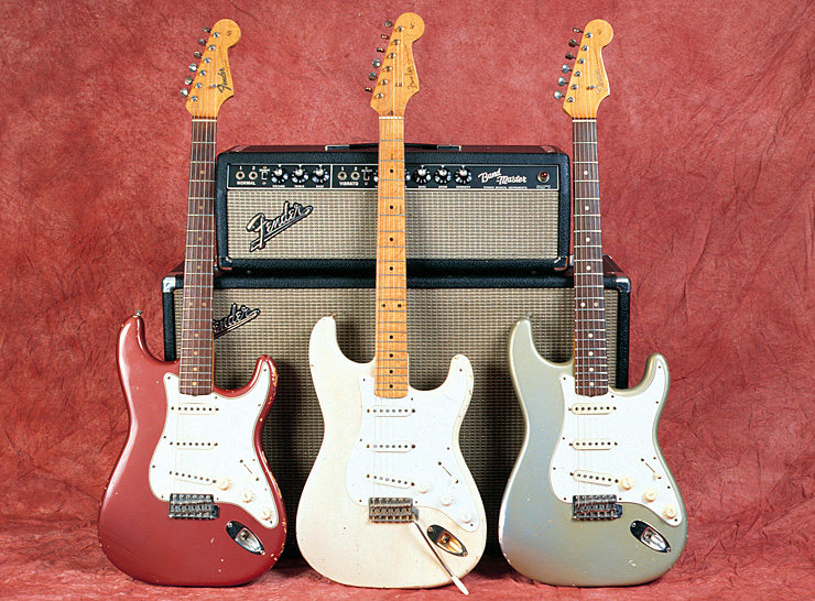 Fender Custom color strats 01