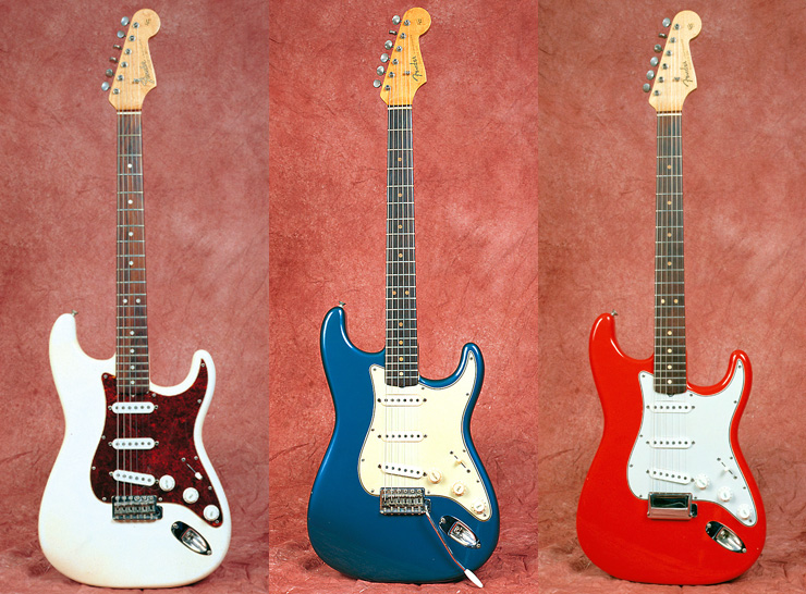 Fender Custom color strats 03