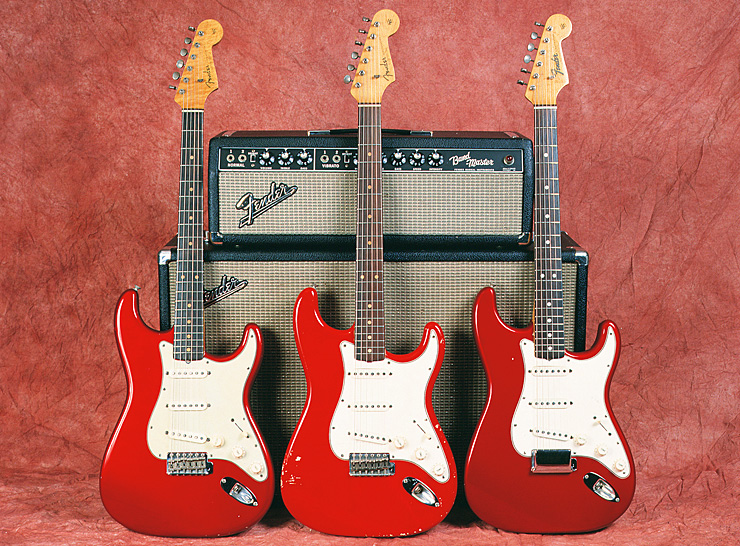 Fender Custom color strats 05