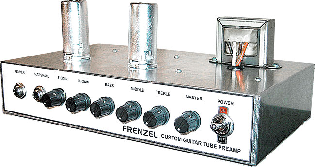Frenzel FM-DP1 Tube Preamp