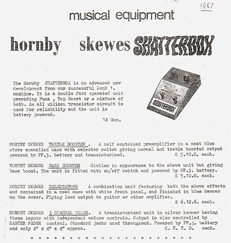 Hornby Skewes Zonk Machines
