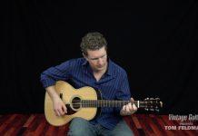 Vintage Guitar magazine Tom Feldmann demonstrates one of Lightnin' Hopkins trademark riffs