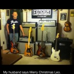 Fender bass guitars and bass amps