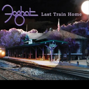 Foghat Last Train Home double blue vinyl