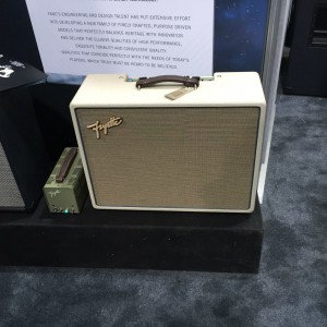 Want clean, gorgeous sound hand-wired right here in the USA? Try the new#Fane-driven #Fryette Aether on for size! #vintageguitar #NAMM2015 #NAMM15#NAMM #ampedup #Aether #LA #amp — in Anaheim, California.