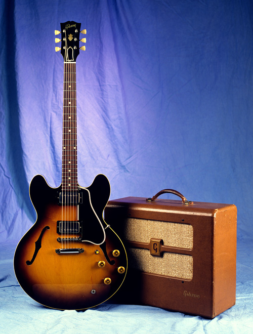 A '59 ES-335TD with the BR6.