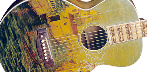 "Late 1920s Gibson L-1 ""Florentine"" Home page main"