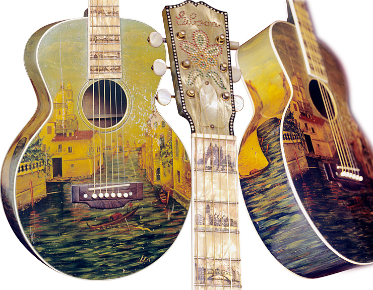 "Late 1920s Gibson L-1 ""Florentine"" Details"