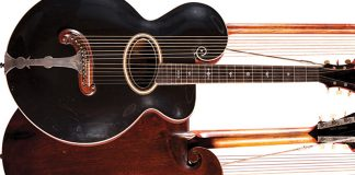 Gibson Style R Harp Guitar Feature Image