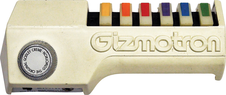 Restored Gizmotron: courtesy of Aaron Kipness.