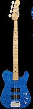 G&L Tom Hamilton Signature ASAT bass.