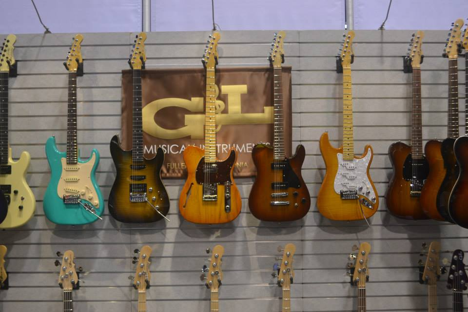 G&L is bringing the vintage vibe.