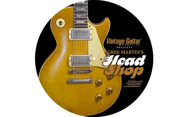 Vintage Guitar magazine Kentucky Headhunters shipmate Greg Martin Head Shop