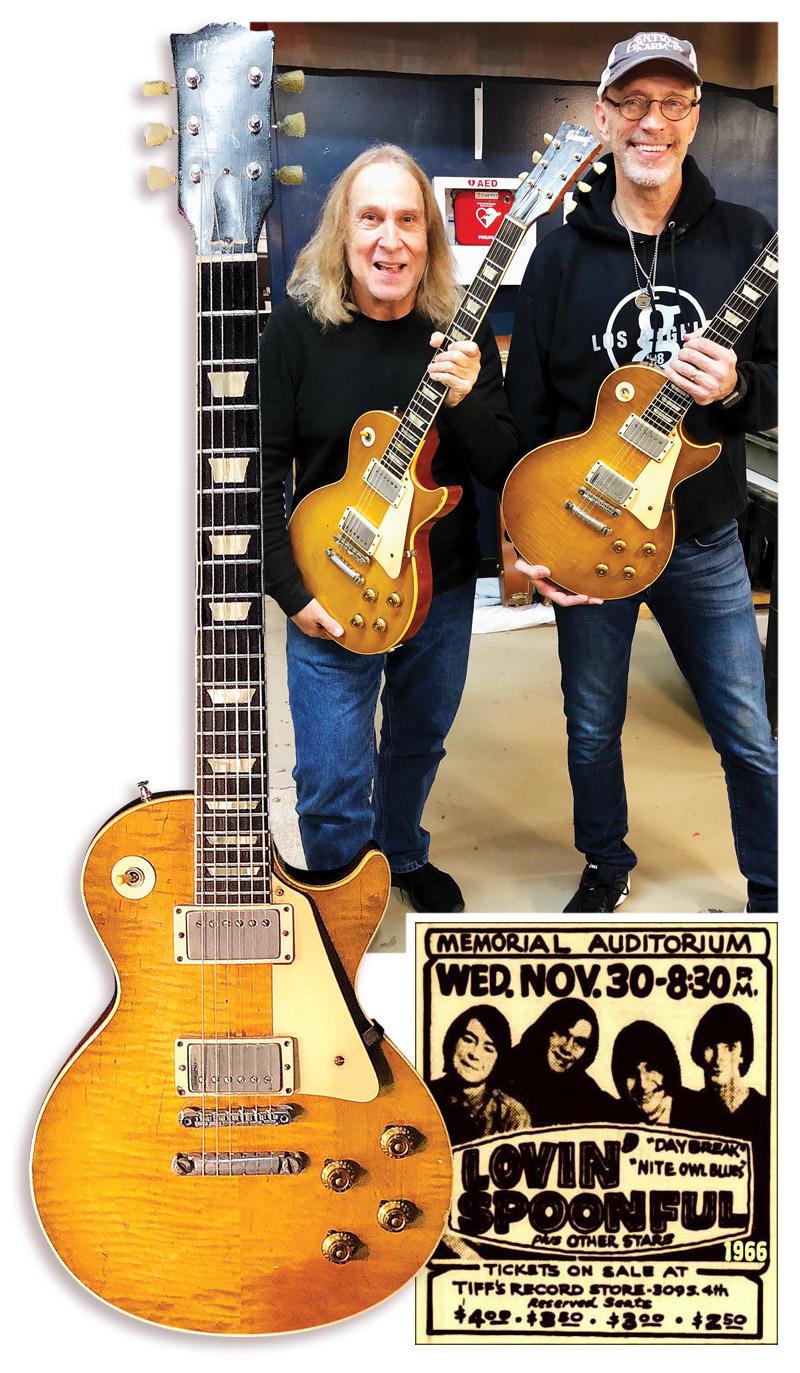 Greg Martin John Sebastian's '59 Gibson Les Paul Standard Vintage Guitar magazine Gordon Kennedy