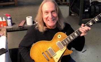 Greg Martin John Sebastian's '59 Gibson Les Paul Standard Vintage Guitar magazine Feature Image