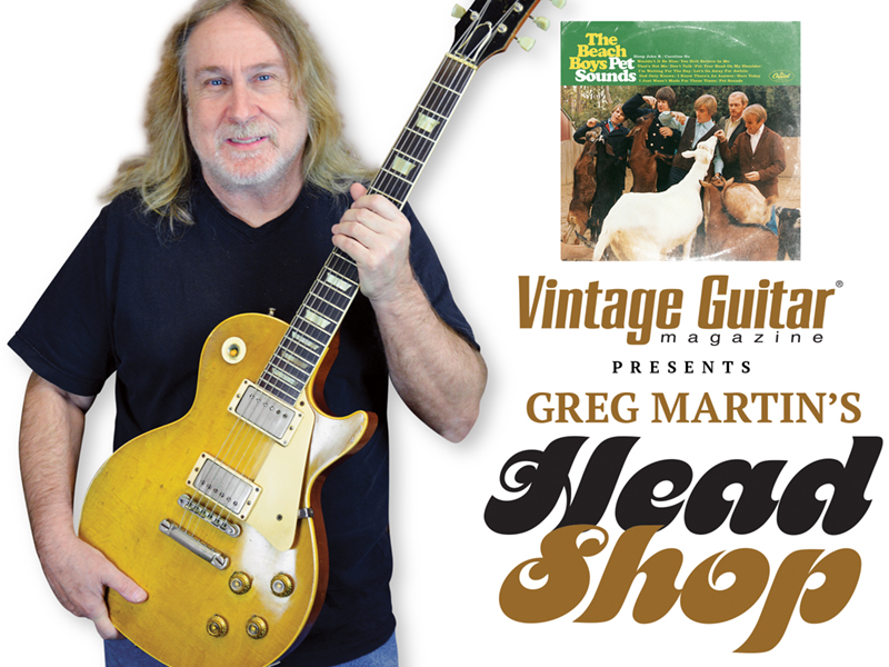 Vintage Guitar magazine presents greg Martin's Head shop Pet sounds Kentucky Headhunters