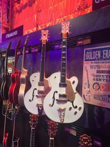 We're halfway through Day 3 of The NAMM Show! Let's celebrate with some Golden Era '55 Falcons from Gretsch.