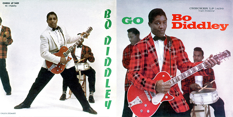 BO DIDDLEY ALBUM COVERS