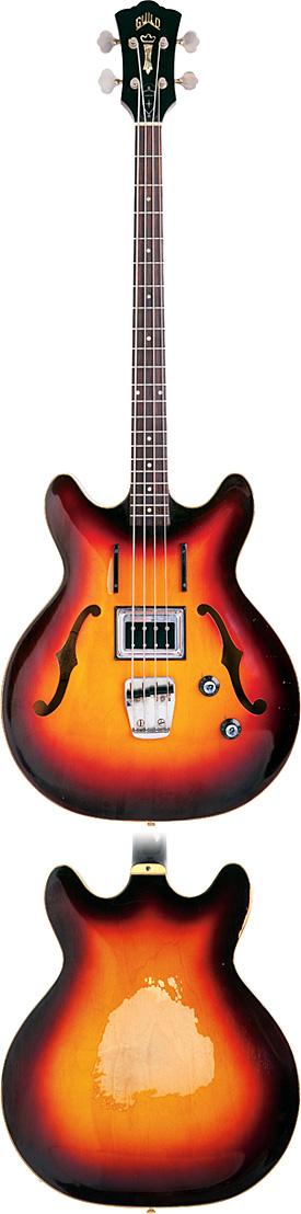 1966 Guild Starfire Bass