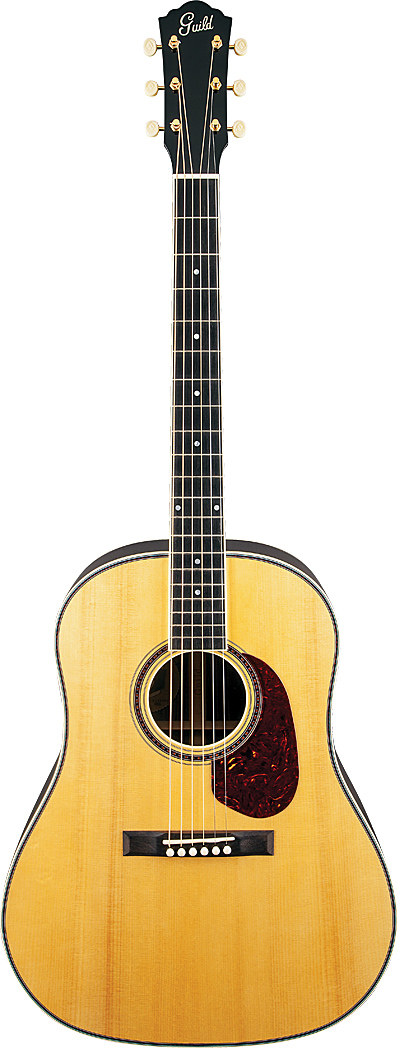 Guild's Orpheum Slope Shoulder 14-Fret Rosewood Dreadnought