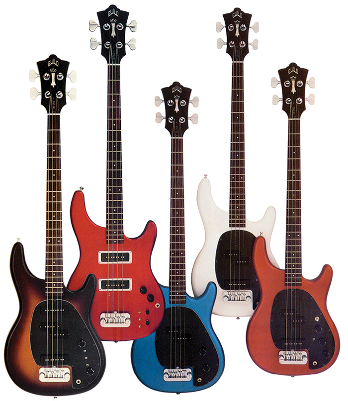 Guild Basses in the Early 1980s