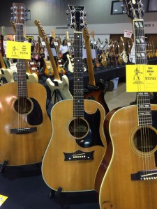 Grammer was a short-lived, but well-respected, brand of acoustics built from '65 to '71 in Nashville. Guitar Emporium is showing this '68 Grammer S-10 at Guitarlington 2015.