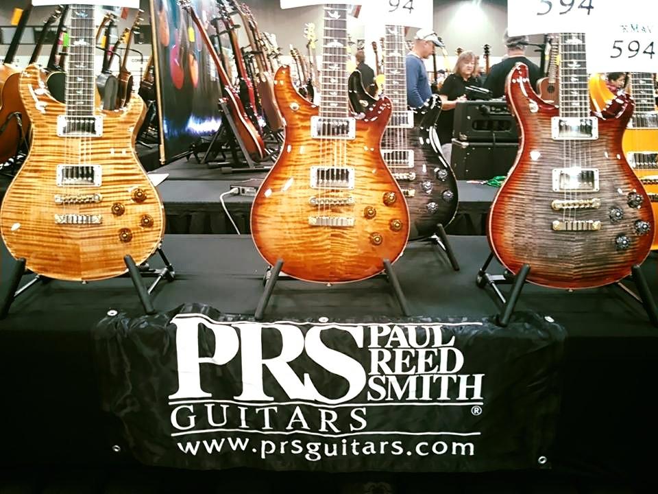 Guitar Maverick showing their stunning 594 PRS guitars!