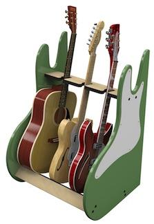 Guitar Storage RetroRack
