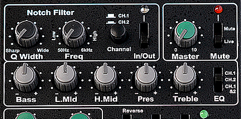 Headway EDB-2 Equalizer Direct Blend Preamp Home Main