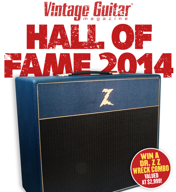 Vintage Guitar Hall of Fame 2014 Dr. Z Wreck combo