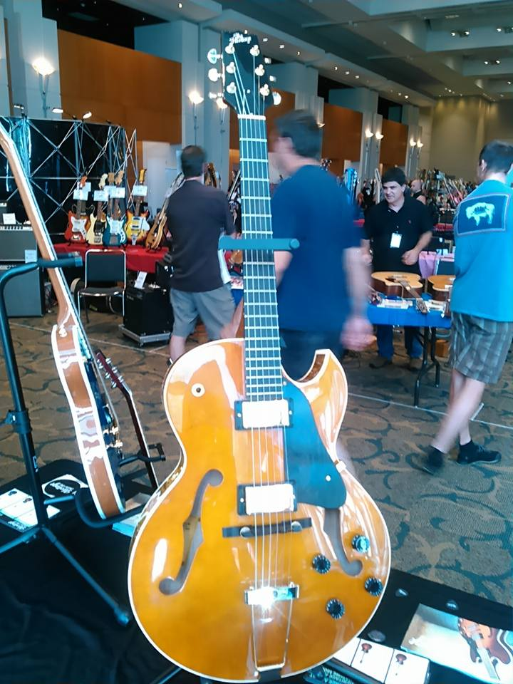 Heritage Guitar Inc is at Guitarlington and brought the Mimi Fox signature model and more!